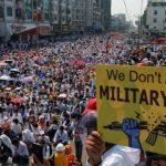 Jurnalis Jadi Tersangka Karena Liput Demo Myanmar